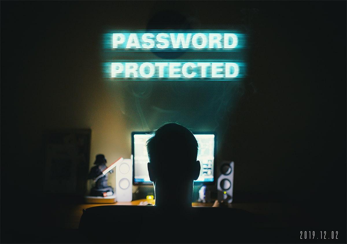 パスワード保護が機能しないときの対処法